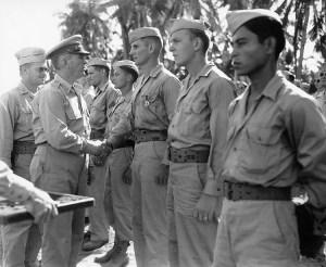 Pacific Award Ceremony, 1944
