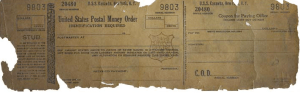 US Postal Money Order