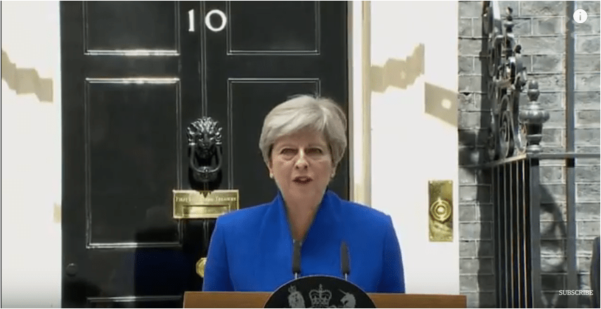 Theresa May: 'Now Let's Get to Work' speech – June 9, 2017