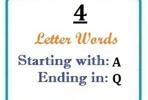 4 Letter Words Ending In Q Letterword Com