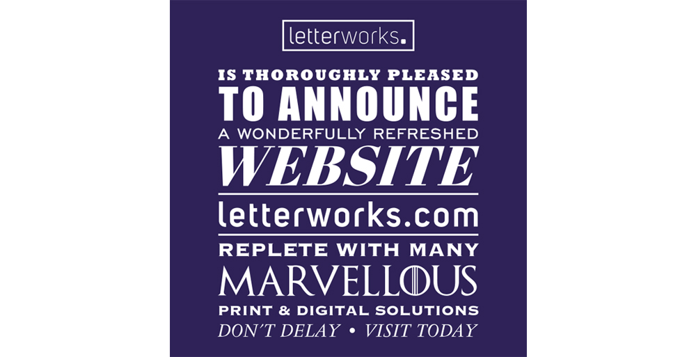 It's here, our new website is now live!