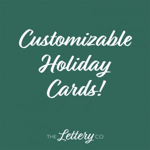 shop customizable holiday cards