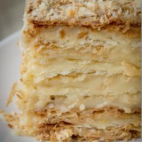 Russian Napoleon Cake - Puff Pastry Cake