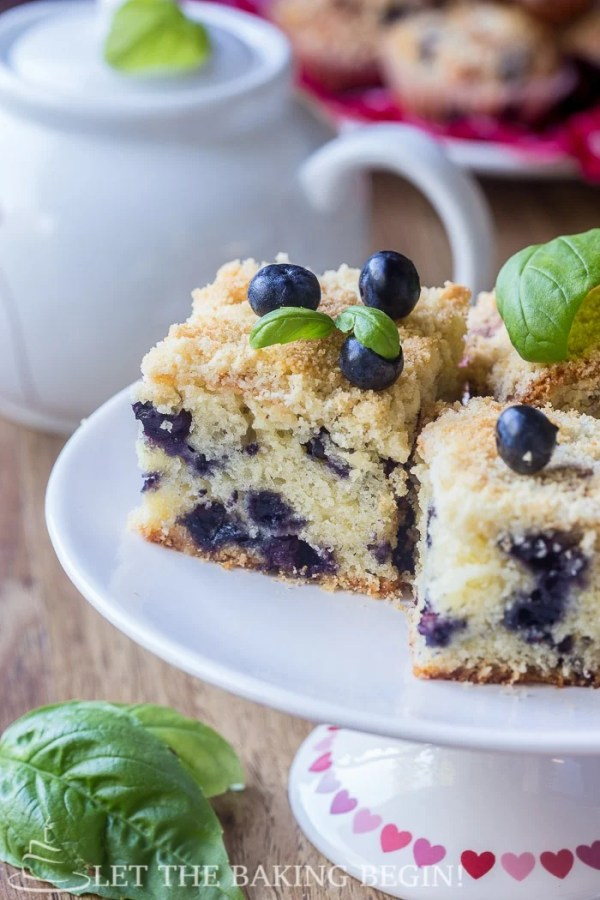 This Blueberry Coffee Cake is made with olive oil and Greek Yogurt in addition to the antioxidant-rich blueberries. If there's ever a muffin that you want to make, this is it