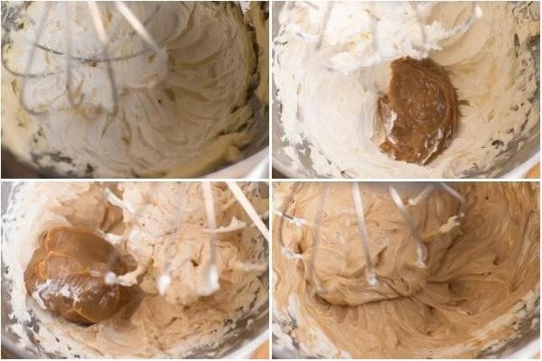 How to make the dulce de leche buttercream.