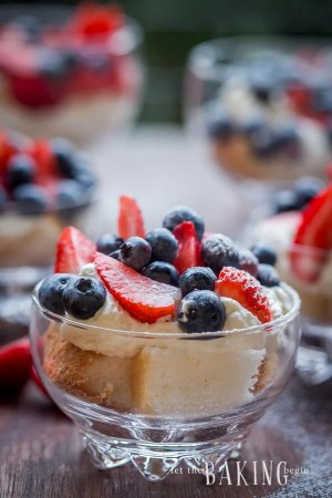 Berry and Cheesecake Trifle | Let the Baking Begin!