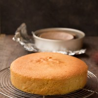 Simple Yellow Sponge Cake Recipe