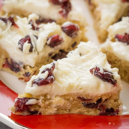 Cranberry Bliss Bars Recipe