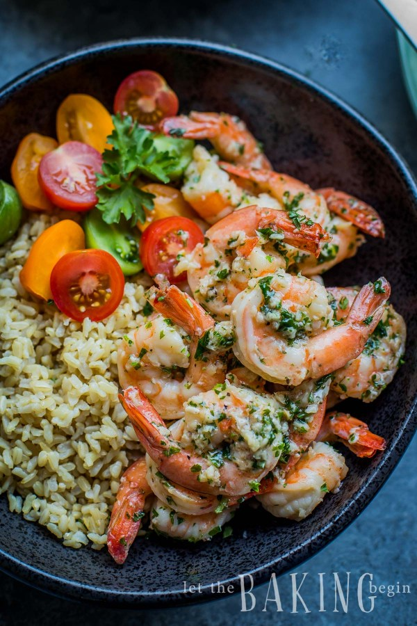 Easy Shrimp Scampi Recipe Let The Baking Begin