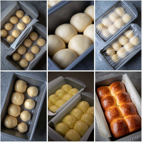 Brioche dough has lots of butter and eggs, which makes it rich an delicious. This yeast dough is perfect for sandwiches, toast and dinner rolls.