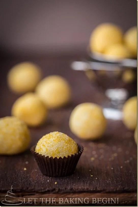 how to make perfect round truffles