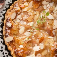 French Almond Cream & Pear Tart