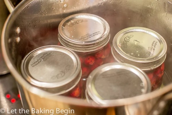 Canning Tart Cherries so that later they can be used for muffins, coffee cakes, pies, cakes, pastries, cheesecakes and more is not as hard as one might think!