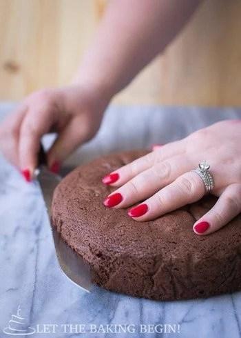 Cutting Sponge Cakes Tricks