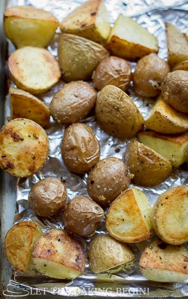 Potato Salmon and Asparagus One Pan Dinner {Clean, Easy ...