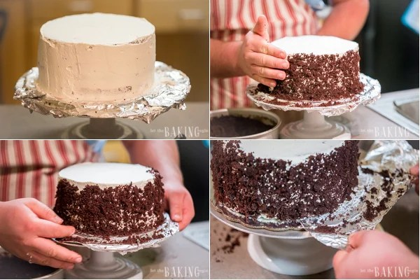 Black Forest Cake - Layers of chocolate cake, sweetened heavy whipping cream and sour cherry filling. | By Let the Baking Begin!
