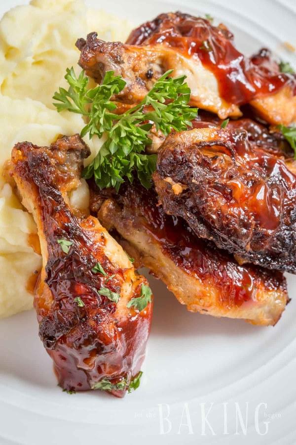 Garlic Ranch Chicken Wings | Let the Baking Begin!