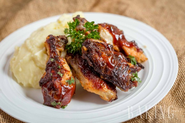Garlic Ranch Chichen Wings| by Let the Baking Begin!_