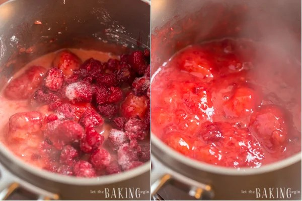 Strawberry and Raspberry Sauce | Let the Baking Begin!