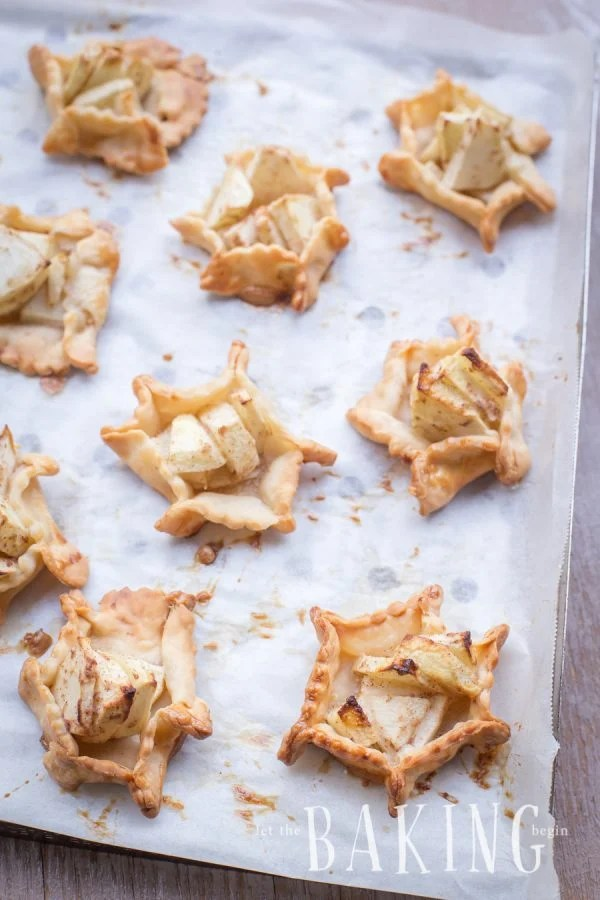 Apple Pie Bites - bite sized cinnamon apple dessert, that can be topped with caramel and ice cream just like the real deal   Let the Baking Begin!