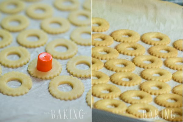 Plum Butter Cookies - Shortbread Cookie with Plum Butter and Buttercream filling is a classic Ukrainian pastry recipe that is very popular among the slavic community (Pesochnoe Pirozhenoe)   Let the Baking Begin!
