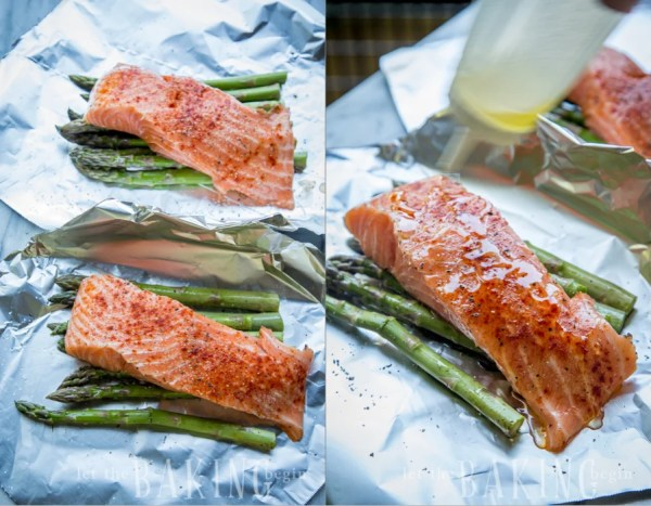 Salmon Asparagus Foil Packets - Let the Baking Begin!