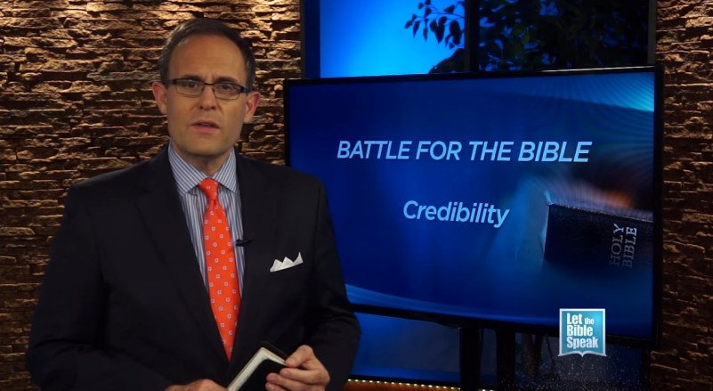 Battle For The Bible's Credibility (The Text) - LET THE BIBLE SPEAK TV with Kevin Presley