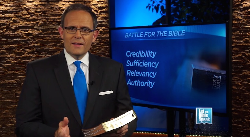 Battle For The Bible's Authority (The Text) - LET THE BIBLE SPEAK TV with Kevin Presley