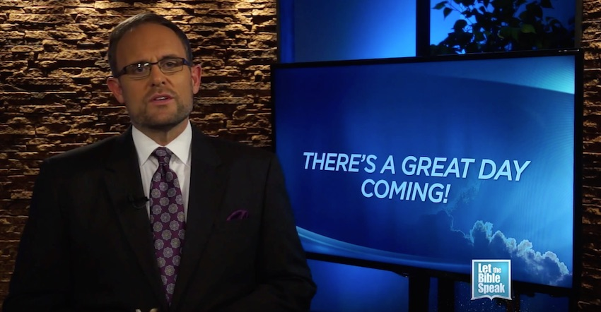 There's A Great Day Coming (The Text) - LET THE BIBLE SPEAK TV with Kevin Presley