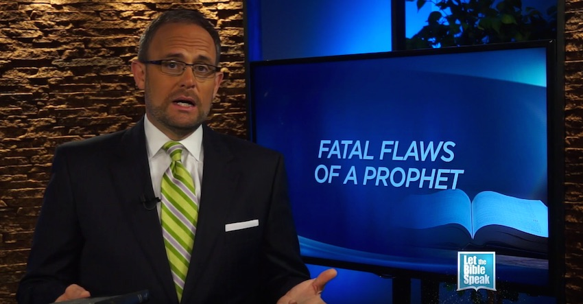 Fatal Flaws Of A Prophet (The Text) - LET THE BIBLE SPEAK TV with Kevin Presley