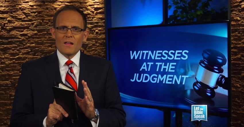 Witnesses At The Judgment (The Text) - LET THE BIBLE SPEAK TV with Kevin Presley