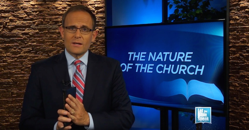The Nature Of The Church (The Text) - LET THE BIBLE SPEAK TV with Kevin Presley