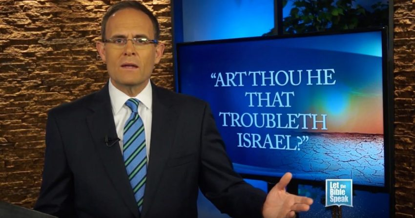 Art Thou He That Troubleth Israel? (The Text)