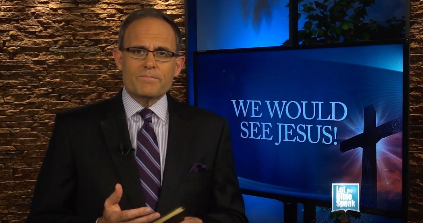 We Would See Jesus (The Text) - LET THE BIBLE SPEAK TV with Kevin Presley