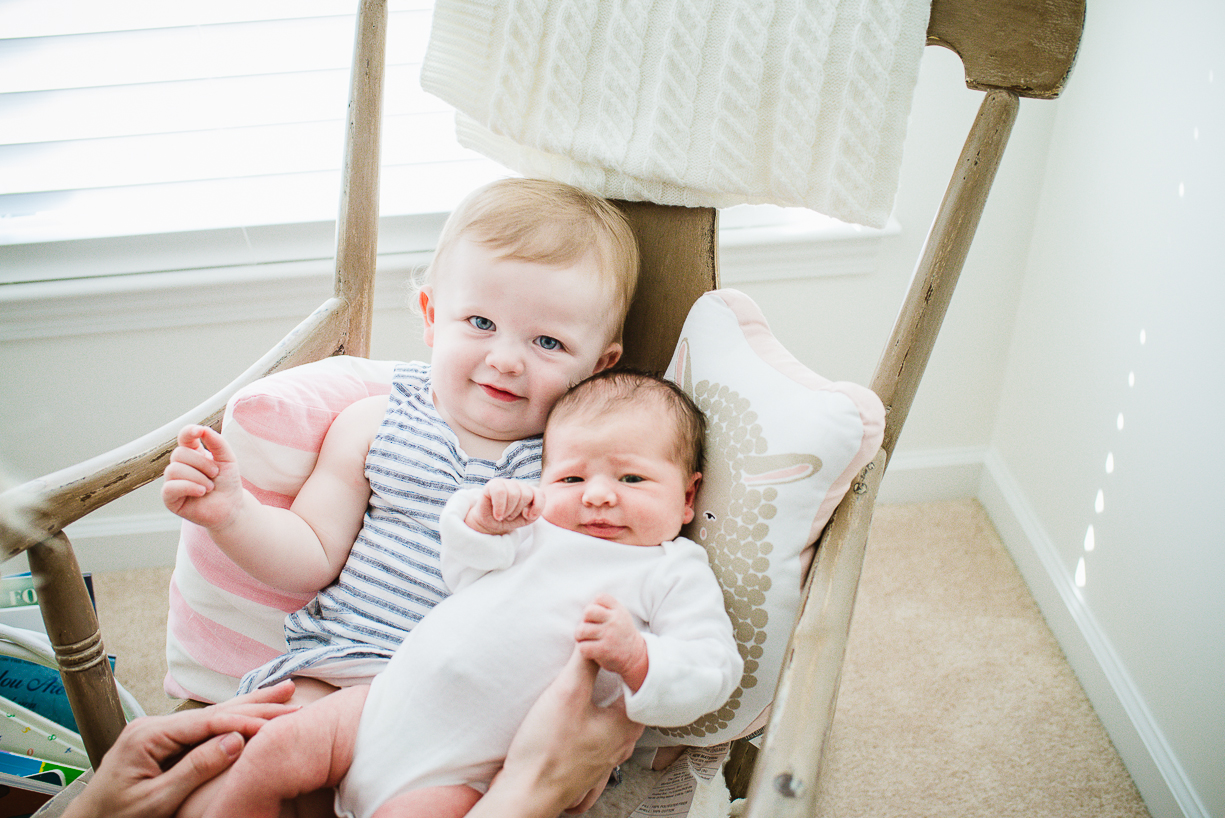 Making Your Toddler Get Along With A New Baby