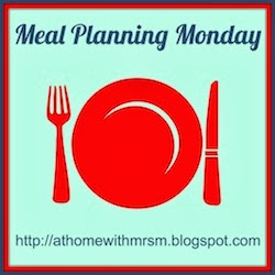 (Belated!) Meal Planning Week 7 – 10 February