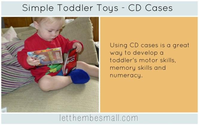 CD Cases toy