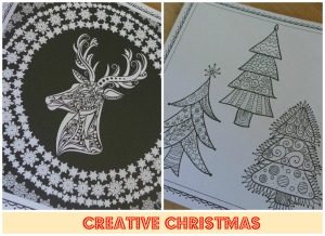 Creative Christmas Colouring book