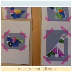 make thank you cards with toddlers