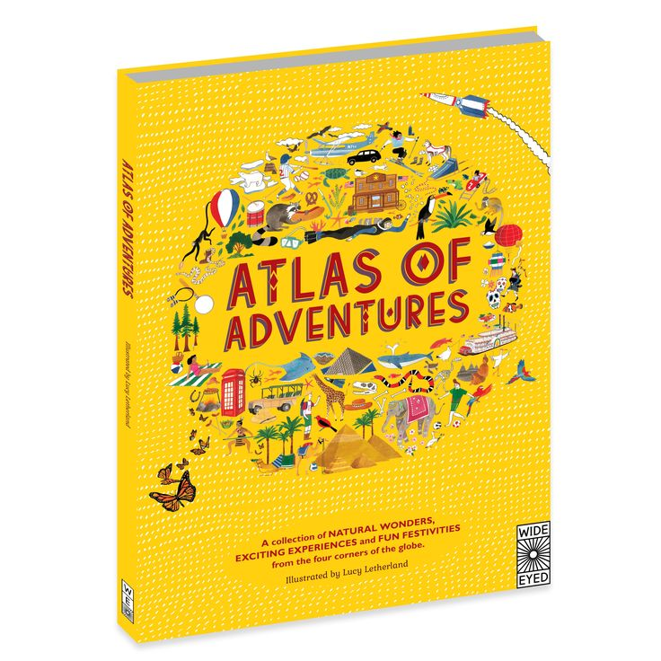 Atlas of Adventures Lucy Letherland