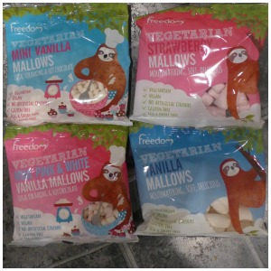 Freedom mallows Marshmallows