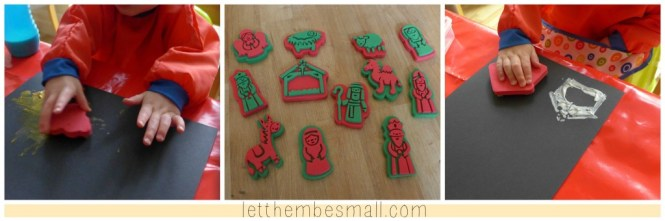 Baker ross nativity stampers