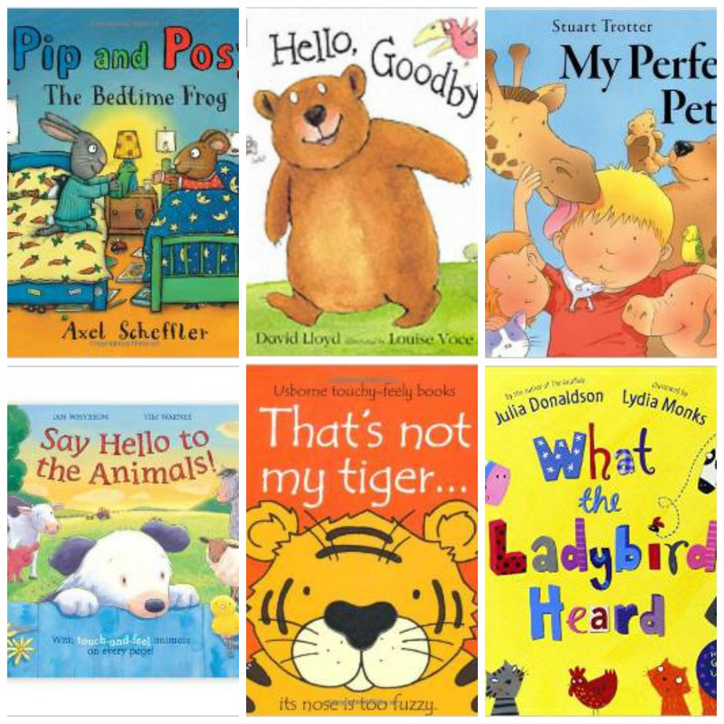 My Favourite Books for Toddlers & Babies