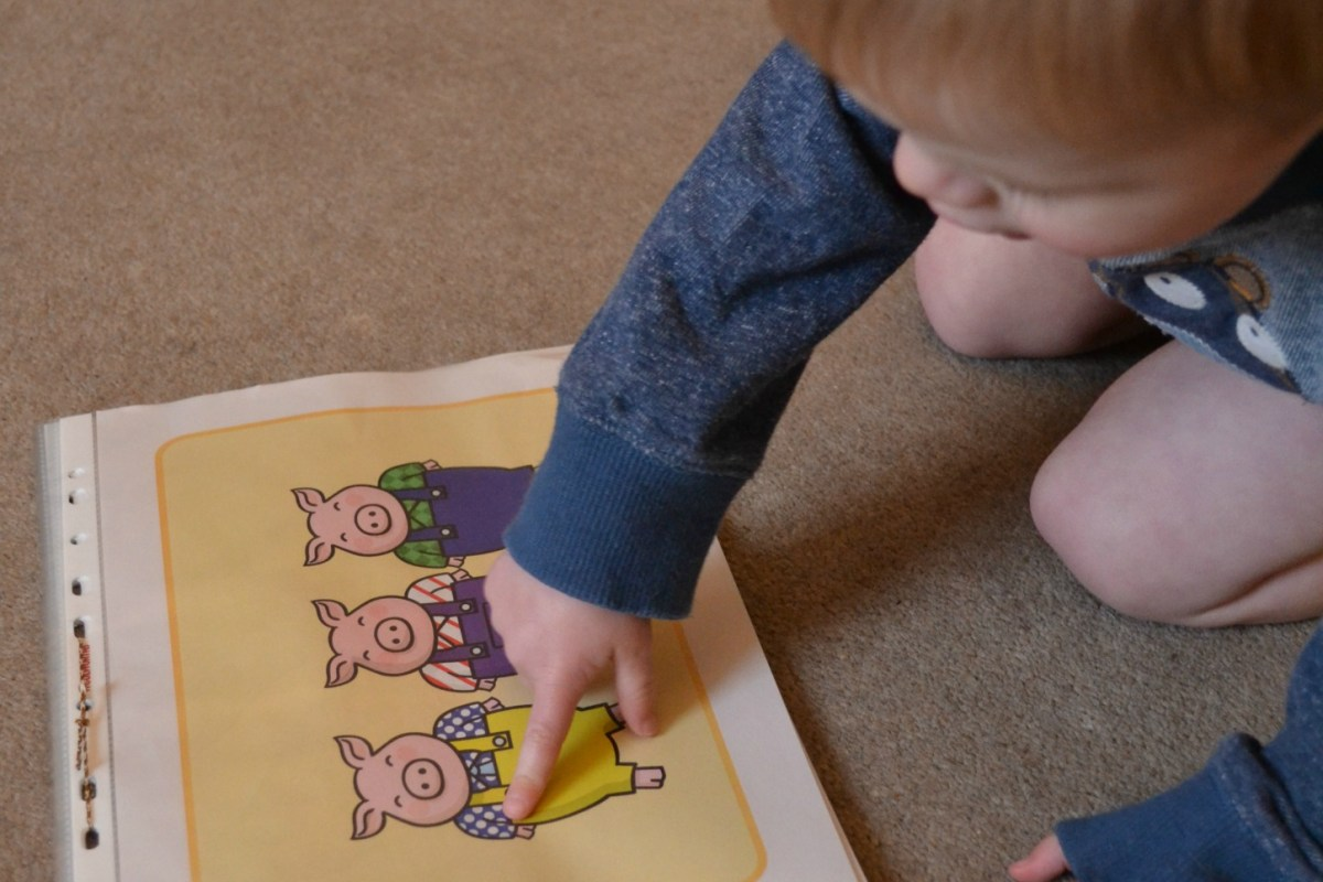 three little pigs toddler activities