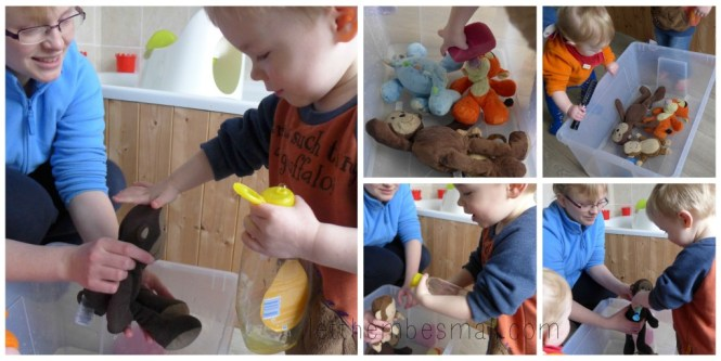 ideas for water play for toddlers