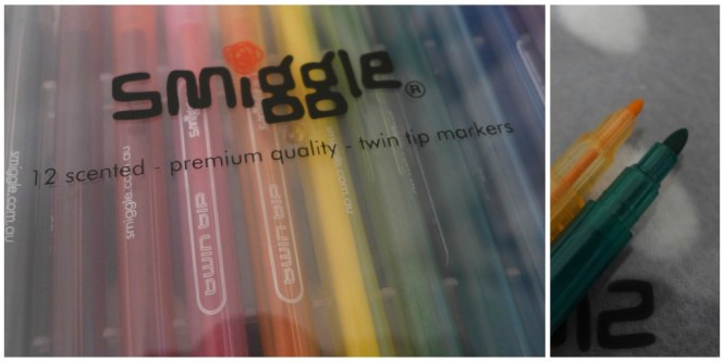 Smiggle twin tip markers