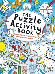 puzzle activity book from buster books
