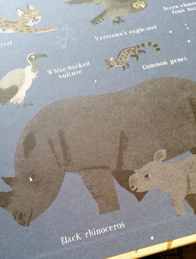 Inside cover of One Day on Our Blue Planet