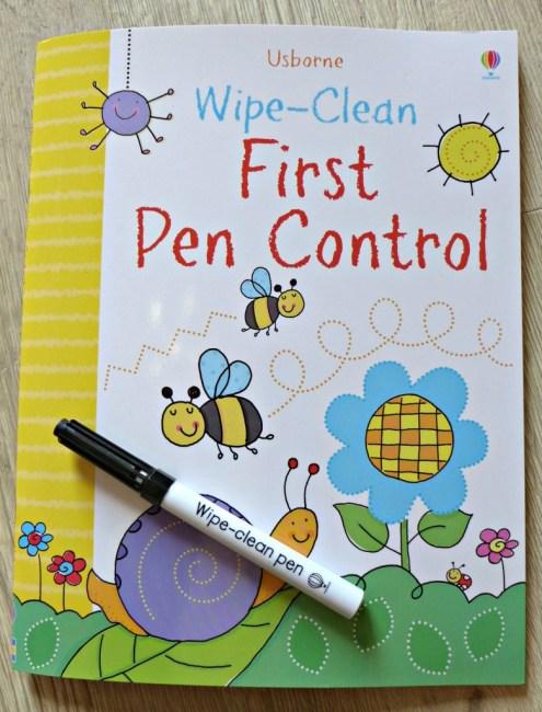 usborne first pen control