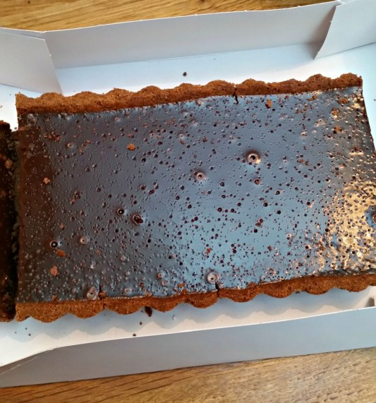 Chocolate Tart using kenwood kmix